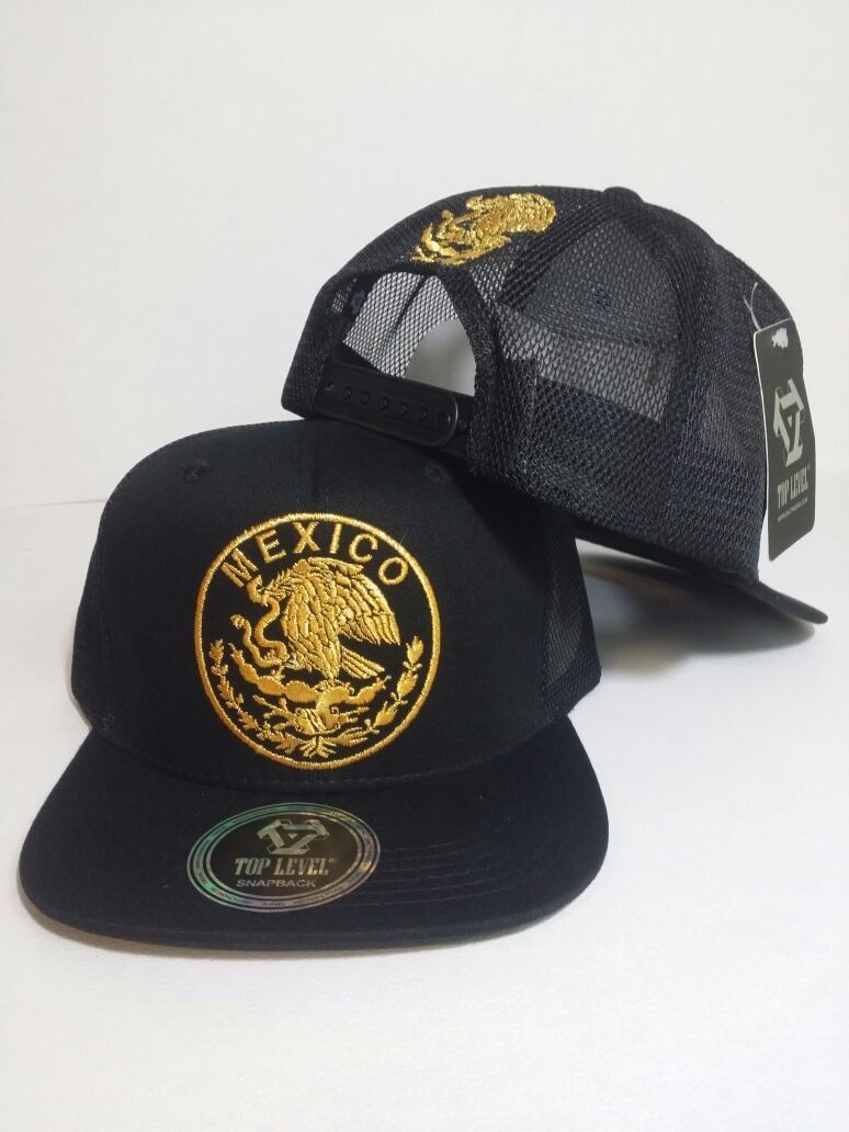 gorra mexico escudo nacional doble snapback ajustabl trucker. Cargando zoom. 6f8bd7da295