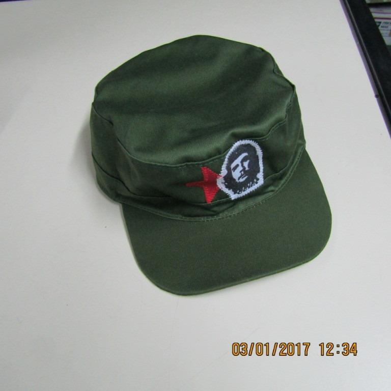 Gorra Militar Cubana Che Guevara -   299 ed3383cddce