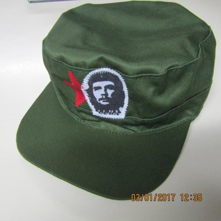 Gorra Militar Cubana Che Guevara -   299 95c6adb801a
