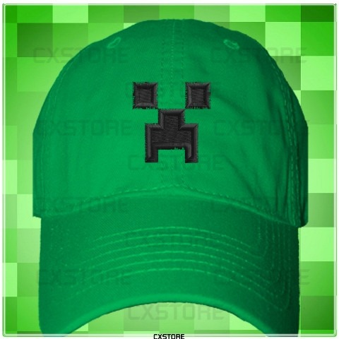 Gorra Minecraft Creeper Fan Art - Bs. 12 c179cc780c0