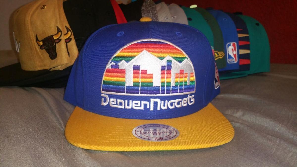 ff7b54cb669f4 Gorra Mitchell And Ness Denver Nuggets Logo Snapback -   650.00 en ...