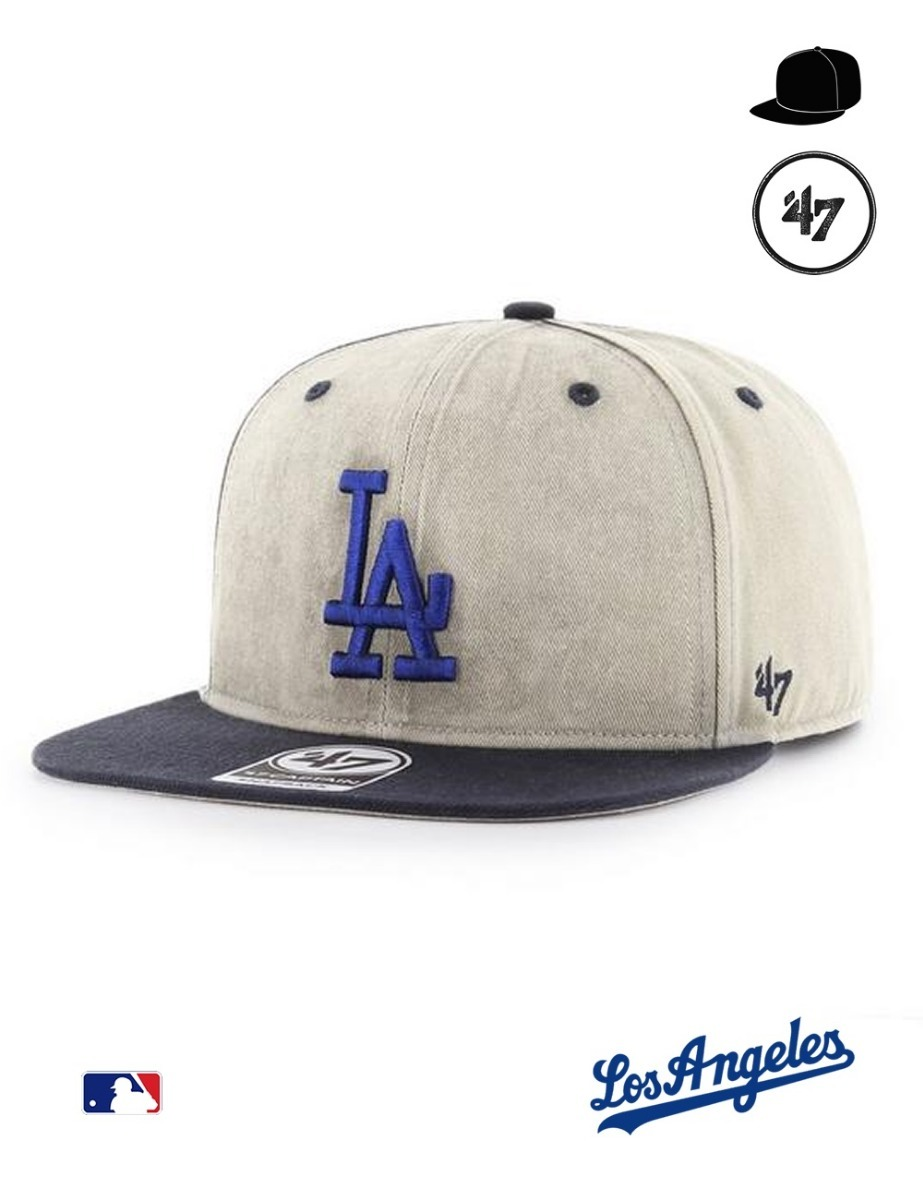 437f748e331ea gorra mlb los angeles dodgers- 47 brand´s captain supercap. Cargando zoom.