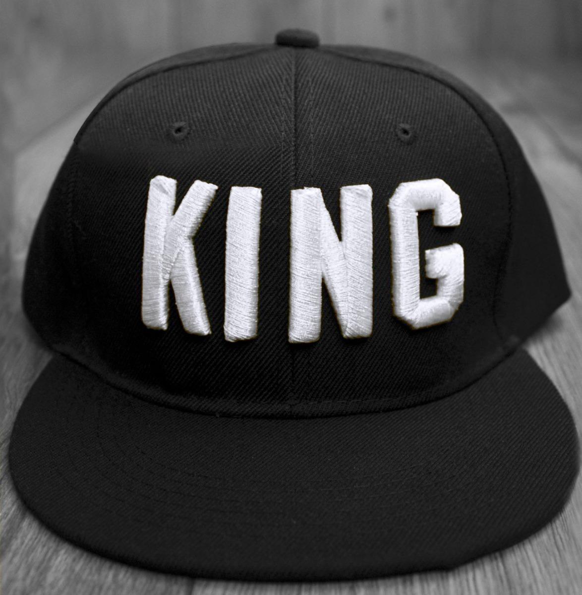 cbf59aa5a0037 Gorra King Rey Moda Hombre Snapback Bordado San Valentin -   200.00 ...