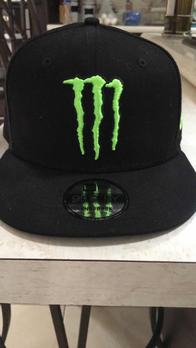 Gorra Monster Energy New Era -   600.00 en Mercado Libre 19bfc6a5c20