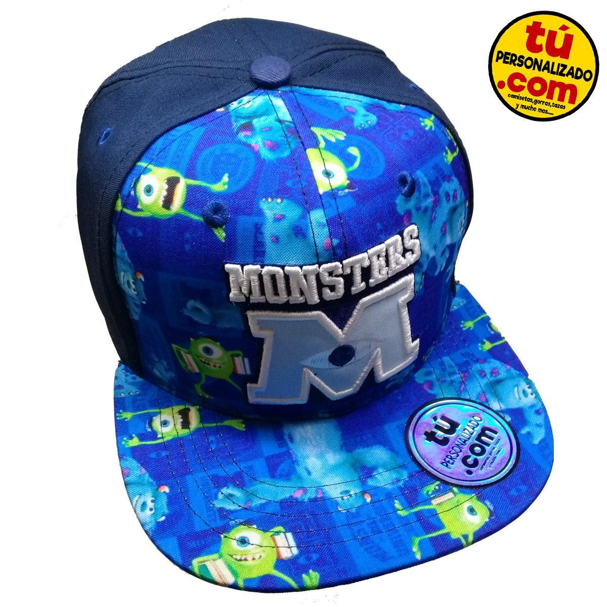 Gorra monster inc disney bordada estampada exclusiva adulto cargando zoom  jpg 1200x1200 Gorras de monster inc 15a80d5a076
