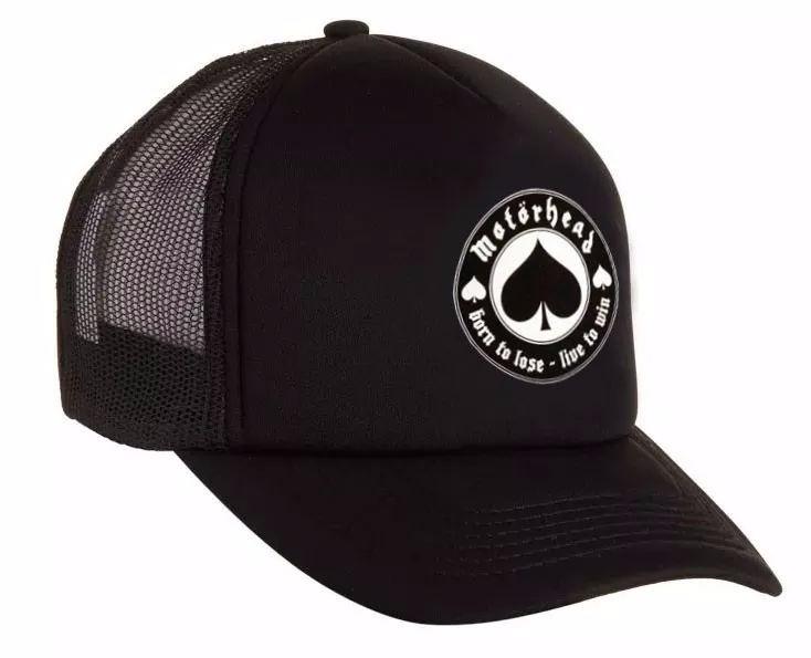 Gorra Motorhead - Trucker Curvas - Ace Of Spades- Rock -   330 7d8d48840ac