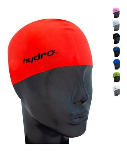 gorra natación silicona adulto con estuche hydro star