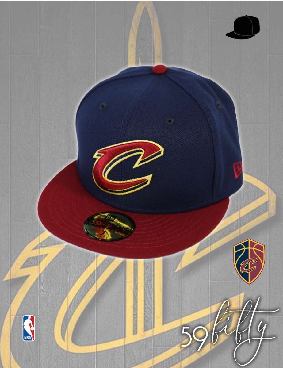 7450b5db7255d gorra nba cleveland cavaliers - new era 59fifty autthentic. Cargando zoom.