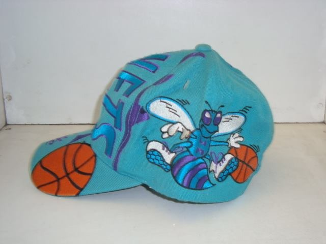 dcced37041104 Gorra Nba Hornets Charlotte 1995 + Pin Made In Usa -   2
