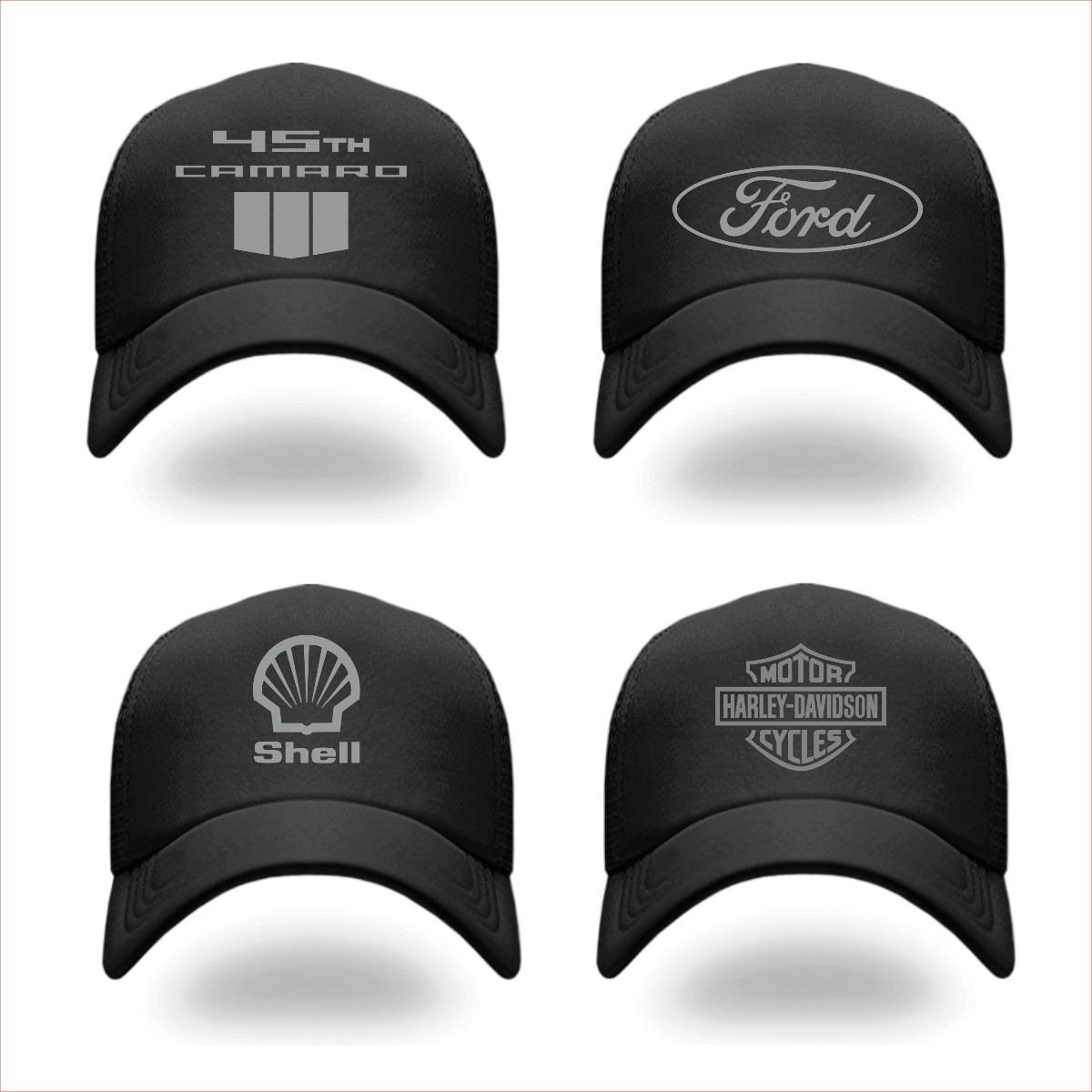 Gorra Negra Personalizada -   200.00 en Mercado Libre f0795bd71d3