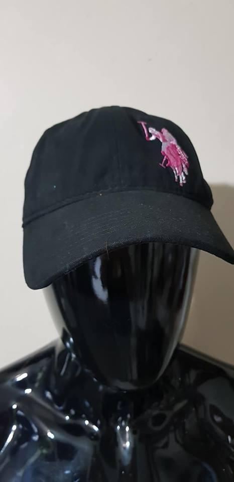 26e4fac1a3d4 Gorra Negra Us Polo Assn Nueva Original Con Etiquetas