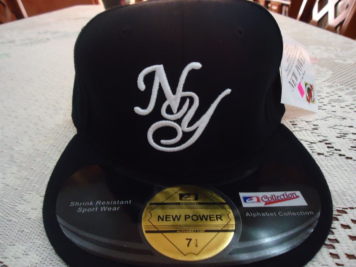 500c00295d0fc gorra negra y azul yankees new york new power 7 1 8 y 7 1. Cargando zoom.