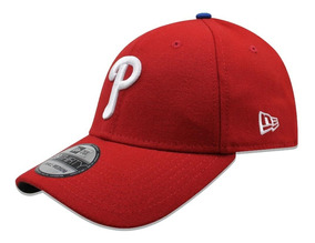 c7dfa079ea09 Gorra New Era 39 Thirty Mlb Phillies Team Classic Gm Roja