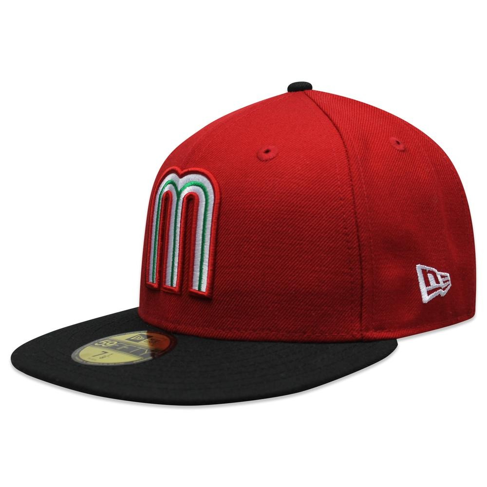 Gorra New Era 5950 México Ne Scr Rojo negro -   729.00 en Mercado Libre c771a63f204