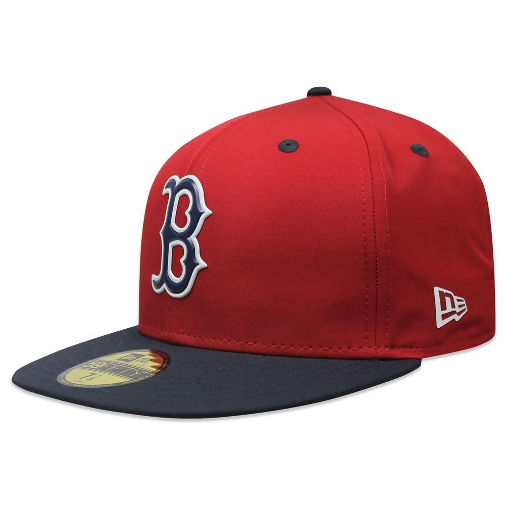 Gorra New Era 5950 Prolight Red Sox Rojo azul -   729.00 en Mercado ... a9fee8b9d1f0
