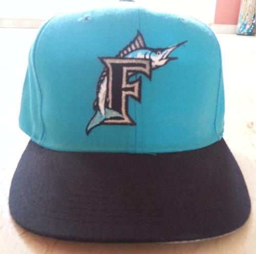 gorra new era 59th fify floridai marlins 7 3/8 - leer
