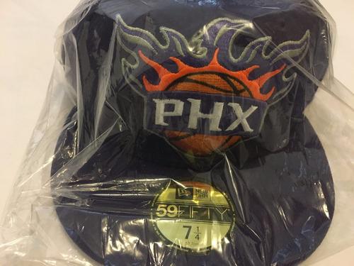 gorra new era 7 1/4 nba soles de phoenix 5950 morado