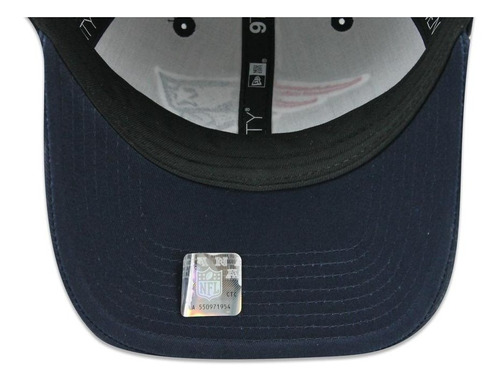 gorra new era 920 nfl patriots others white azul unitalla