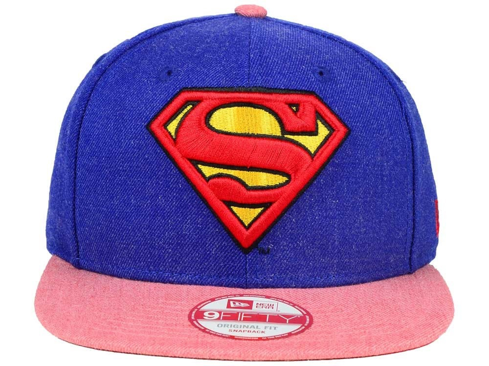 1a22b5ca4c2e2 Gorra New Era Dc Comics Superman 9fifty -   650.00 en Mercado Libre
