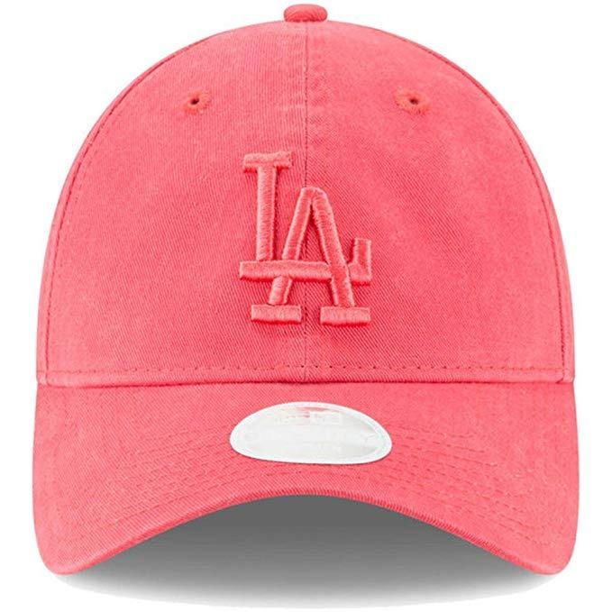 Gorra Los Angeles Dodgers New Era Rosa Core Classic Mujer 10 ... 31399b17799
