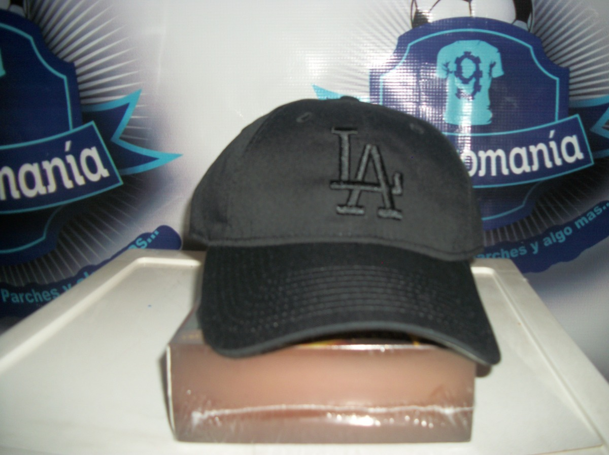 Gorra New Era Beisbol Mlb Dodgers Angeles La Ajustable Negra ... d5465f8492f