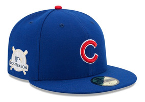 moderno y elegante en moda moda caliente zapatos para correr Gorra New Era Cachorros Chicago Cubs Postemporada 2017 Tallas Disponibles  59fifty