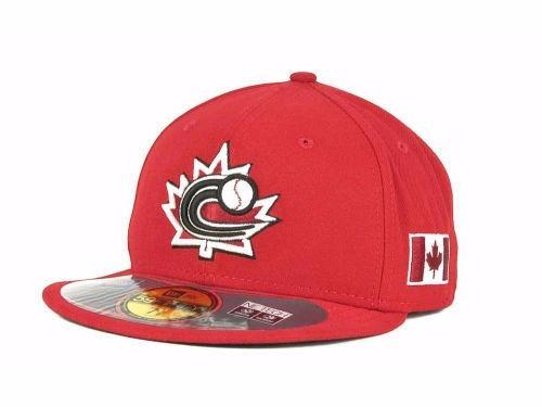 Gorra New Era Canada Clasico Mundial Beisbol 2013 7 1 4 -   550.00 ... e2f29145522