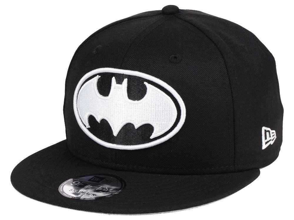 Gorra New Era Dc Comics Batman Black   White 9fifty -   650.00 en ... 9a81349a020