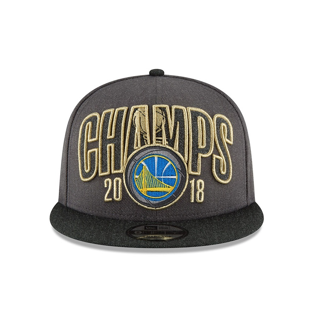 gorra new era golden state warrios 2018 champions ajustable. Cargando zoom. 6c869508965