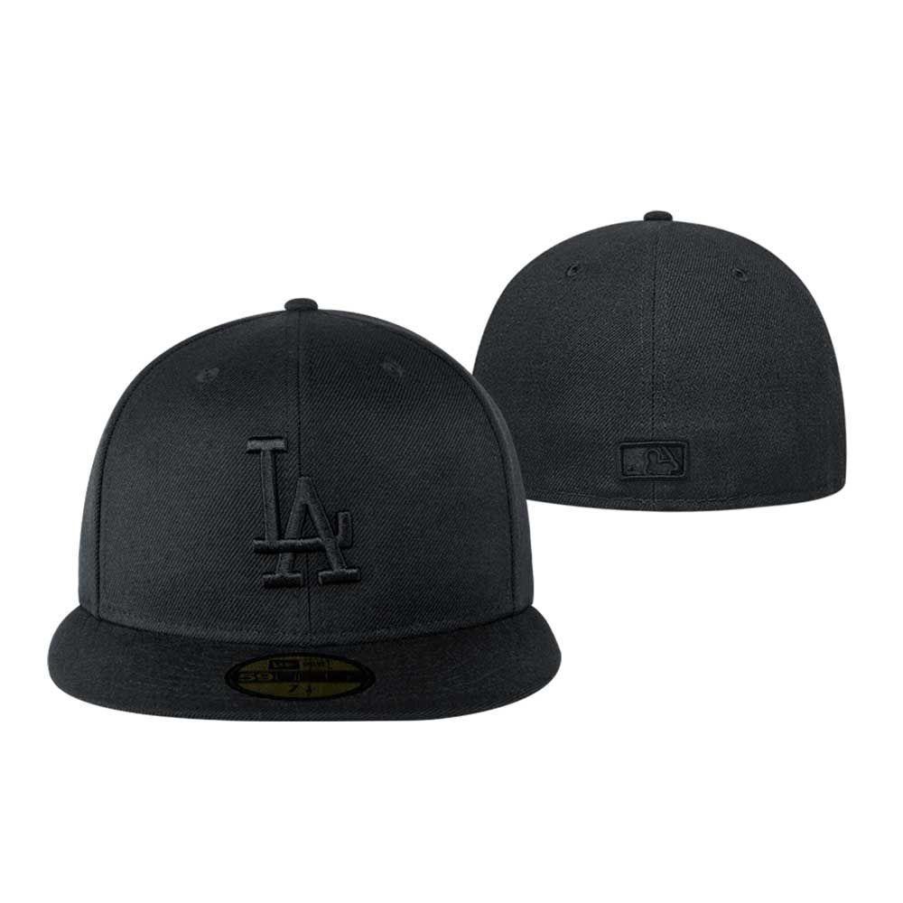 ac2c2778fb5af Gorra New Era Los Angeles Dodgers Negra -   729.00 en Mercado Libre