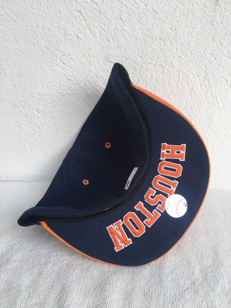 82b0591576f63 Gorra New Era Mlb Astros Houston Naranja -   399.00 en Mercado Libre
