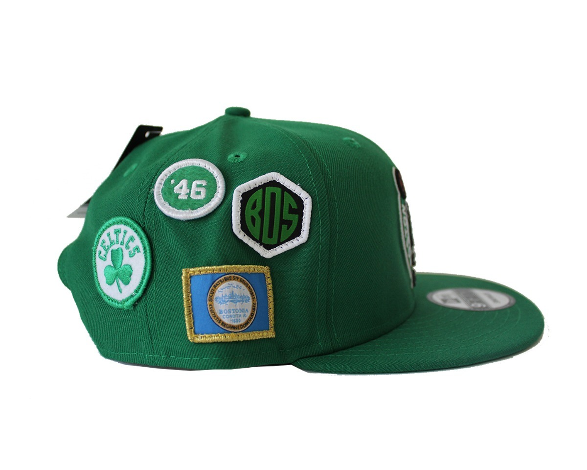 25aab8753a94 Gorra New Era, Nba Boston Celtics Pin Trebol, Snapback