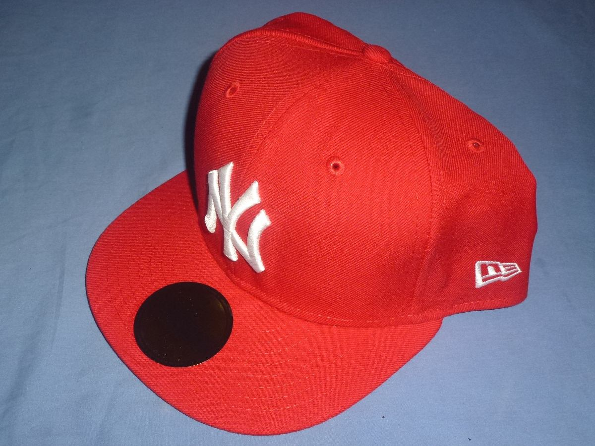 Gorra New Era New York Yankees Roja 6 3 4 -   600.00 en Mercado Libre ef84a3259e8