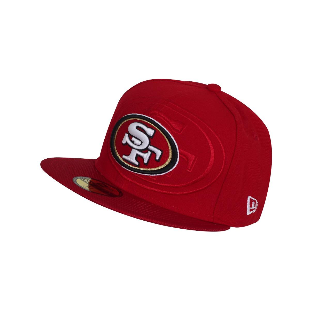 Gorra New Era Nfl 59fifty San Francisco 49ers-rojo -   629.00 en ... ead9d8fcfdc
