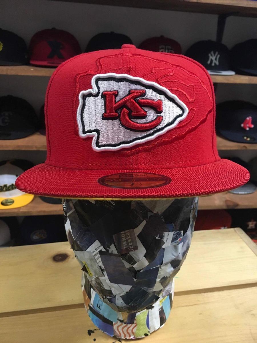 3d357d32df1a6 Gorra New Era Nfl Kansas City Chiefs 2016 -   630.00 en Mercado Libre