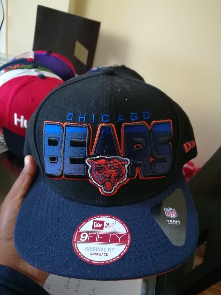 Gorra New Era Nfl Team Chicago Bears Snapback Nueva - S  120 24224fa71a2