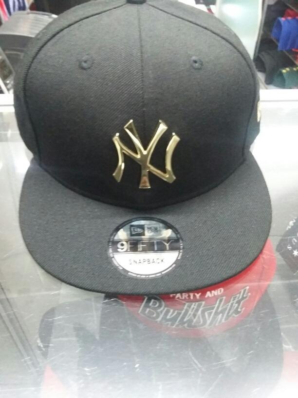 4ee51d1fe78ba Gorra New Era Ny Yankees Insignia Metal Dorado -   850.00 en Mercado ...