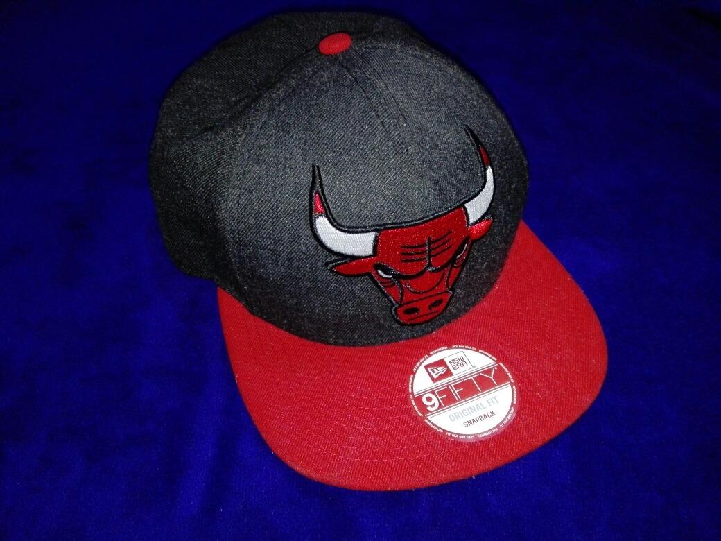 51f665bcb895e Gorra New Era Toros Nba 9 Fifty Chicago Bulls -   699.00 en Mercado ...