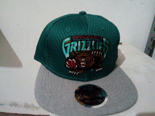 gorra new era  vancouver grizzlies original snapback