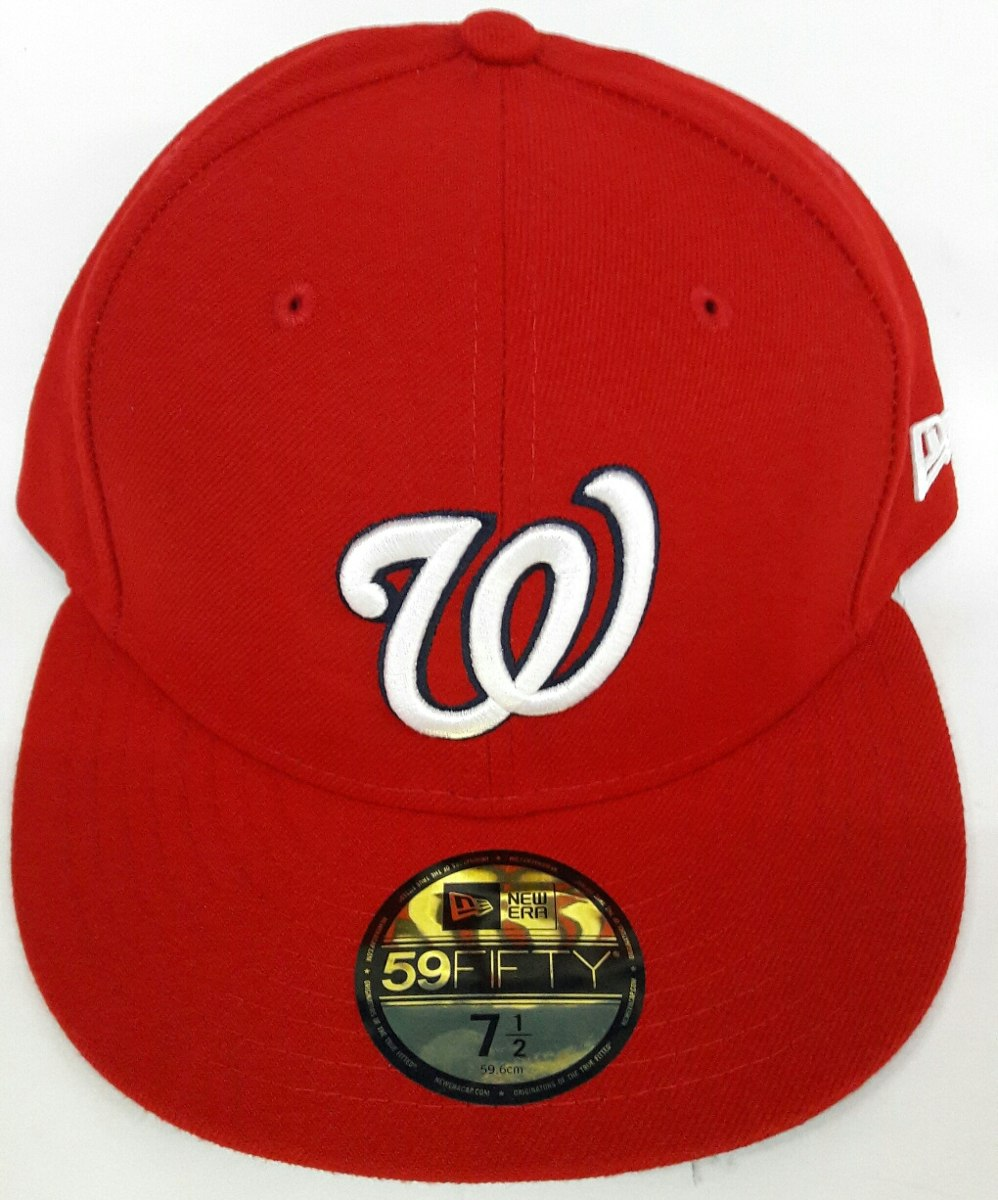ba1c1d7b4db8b Gorra New Era Washington Nationals Varias Medidas -   769.00 en ...