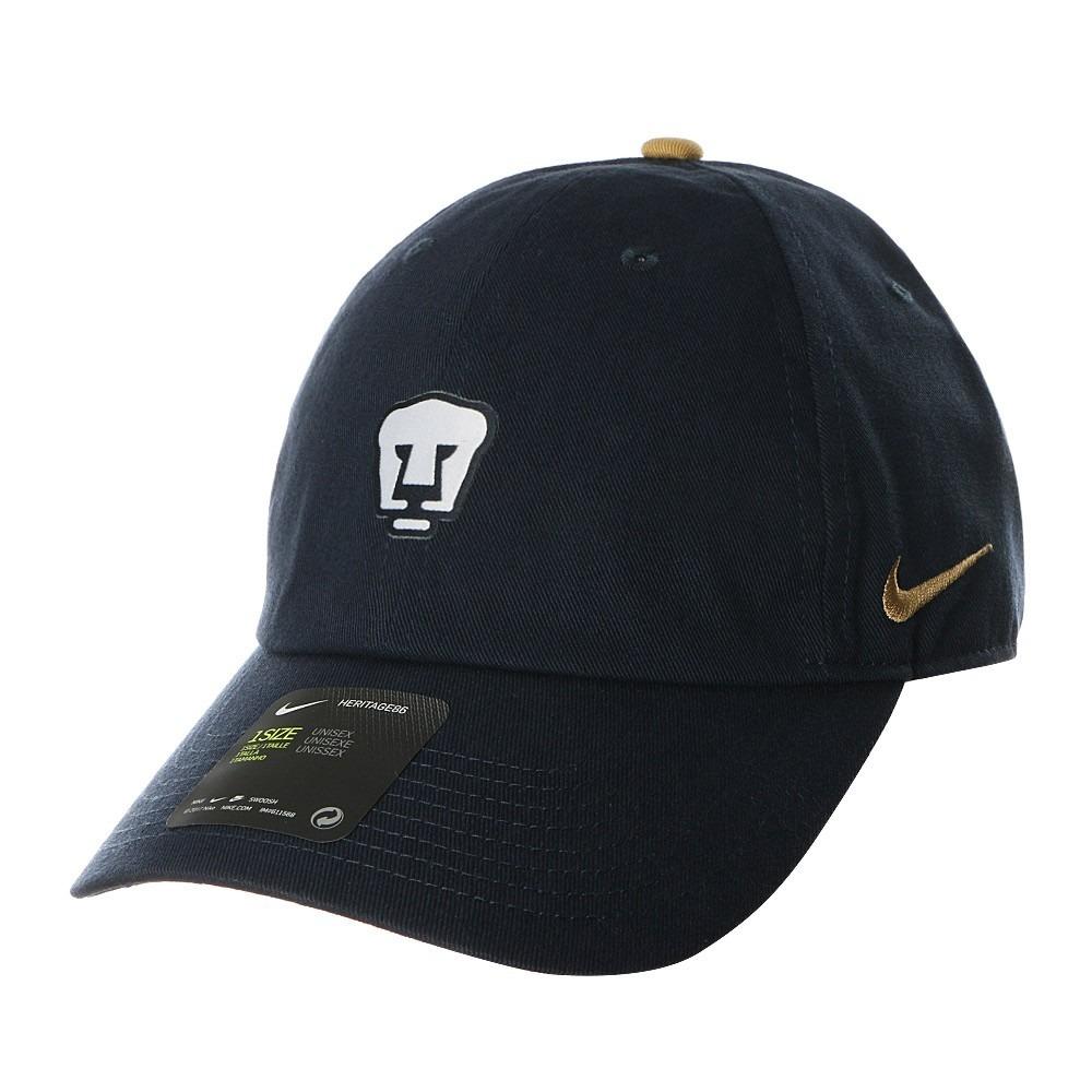 5d3c43b2f87ae Gorra Nike De Los Pumas Azul H86 Marino 2018 -   849.00 en Mercado Libre