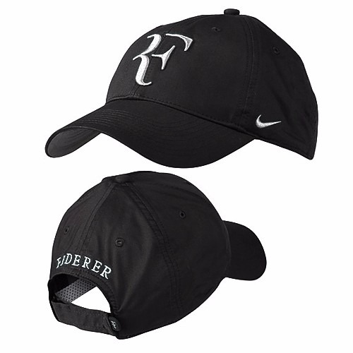 Gorra Nike Federer Rf Logo 2016 Color Negro (el Mas Buscado) -   650 ... 24b07ba3785