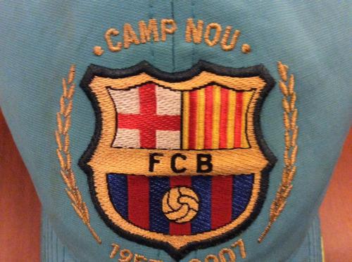 gorra nike fútbol club barcelona 50 años camp nou