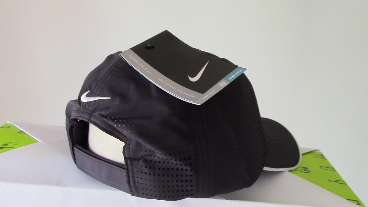 8acf98af0 Gorra Nike Golf 429467 Dri-fit Swoosh Perforated. Negra