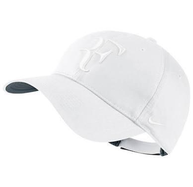 Gorra Nike Roger Federer Blanca Con Logo Blanco -   710.00 en ... f83c1942ab8