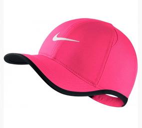 fa0a70343 Gorra Nike Rosa Niña Feathelight Para Tenis