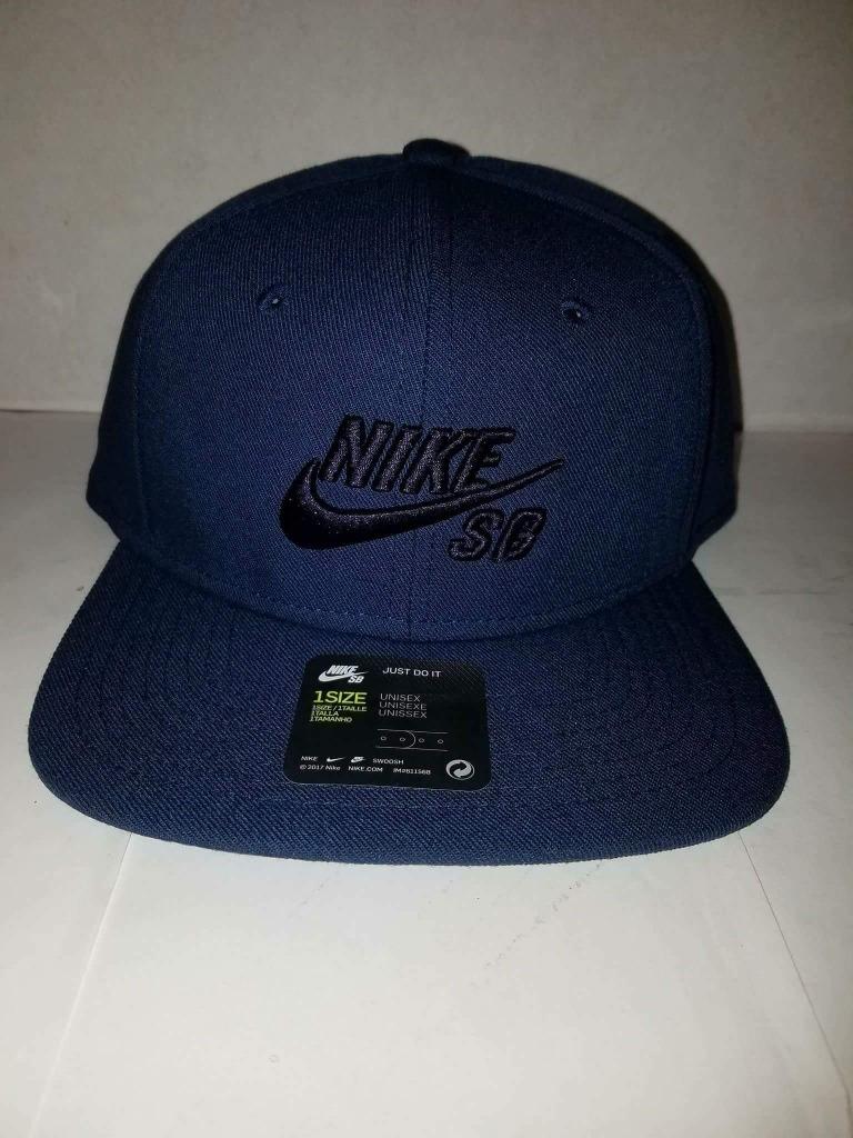 nuevas variedades chic clásico gama exclusiva Gorra Nike Sb Azul Marino