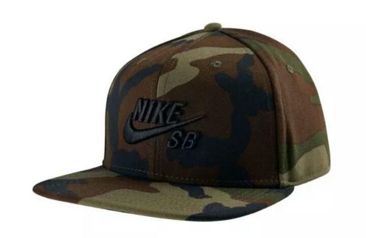 4e72305e25b64 Gorra Nike Sb Camuflaje 100% Original!! -   699.00 en Mercado Libre