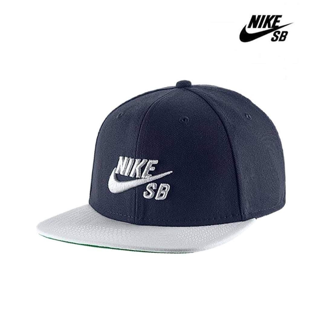49174ce608a6d Gorra Nike Sb Icon Pro Azul blanco - Bordo azul Cap Trucker ...