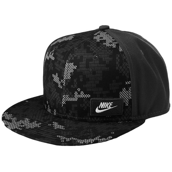 f1777cd4718d7 Gorra Nike Sb Nsw Winterize True Snapback Negro Gris -   1.120